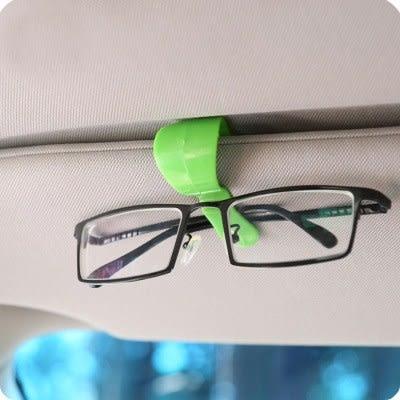【全館5折】WaBao 攜帶型多用途車用眼鏡夾2入 =Z01081=