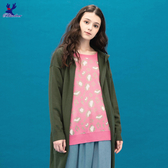 【秋冬降價款】American Bluedeer - 豹紋針織毛衣(魅力價) 秋冬新款