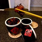 燒烤用品調料罐陶瓷套裝農家樂餐具水缸燒烤調料罐小缸調料盒·樂享生活館