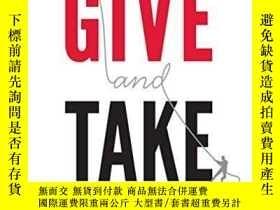 二手書博民逛書店Give罕見And Take-給予與接受Y436638 Adam Grant Penguin Books, 2