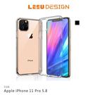 【愛瘋潮】LEEU DESIGN Apple iPhone 11 Pro 5.8 獅凌 八角氣囊保護殼 手機殼 透明殼