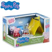 【日本正版】佩佩豬 戶外露營組 家家酒 玩具 Peppa Pig 粉紅豬小妹 - 065337
