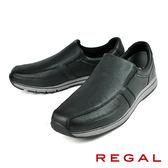 【REGAL】輕量舒適休閒鞋 黑色(253W-BL)