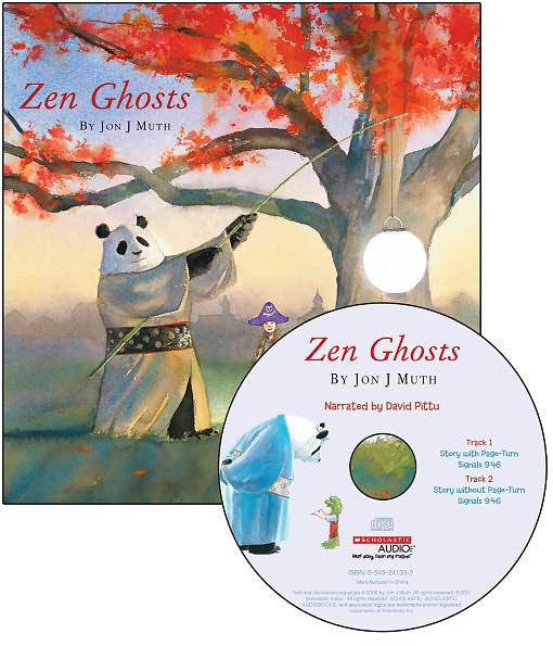 【麥克書店】ZEN GHOSTS  /英文繪本+CD 《主題:Halloween》