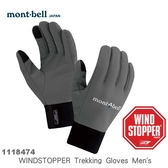 【速捷戶外】日本 mont-bell 1118474 WINDSTOPPER 男 防風/保暖/透氣/觸控手套,滑雪,登山,賞雪,旅遊