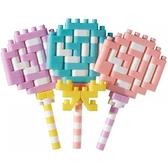 《Nano Block迷你積木》【 美味料理系列 】NBC-306 棒棒糖 / JOYBUS玩具百貨