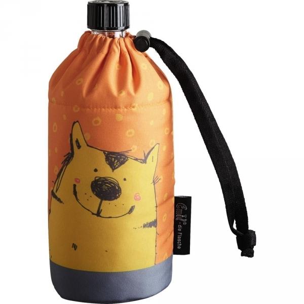 JAKO-O德國野酷-Emil®玻璃冷水壺附保護套400ml-貓