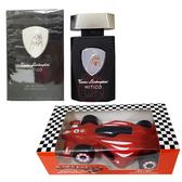 藍寶堅尼 LAMBORGHINI 神話能量男性淡香水 125ML+法拉利 F1跑車造型沐浴膠 180ML【真愛香水】