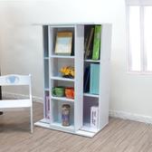 ONE HOUSE-寬60cm小雙排活動書櫃 全鋼鐵鋼珠滑輪/展示櫃/書架