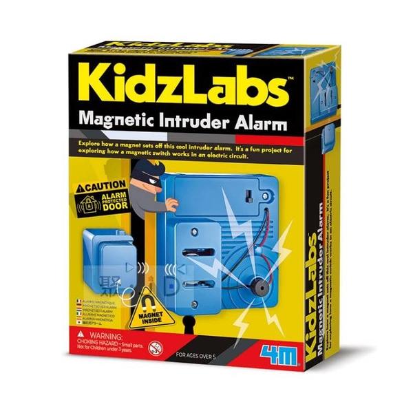 【4M】03440 綠能科學 - 磁力警報器 Magnetic Intruder Alarm