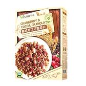 【米森 vilson】蔓越莓可可脆麥片(450g/包)
