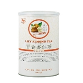 【天然磨坊】百合杏仁茶(600g/罐裝)---無添加糖