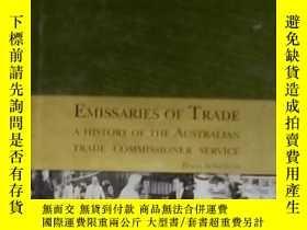 二手書博民逛書店英文原版罕見Emissaries of trade by Bor