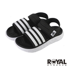 Adidas DURAMO SL SANDAL 黑色 綁帶 涼鞋 男女款 NO.H3390【新竹皇家 FY8134】