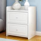 簡易床頭櫃簡約現代收納櫃子臥室床邊儲物櫃...