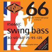 小叮噹的店 英國ROTOSOUND RS666LC (30-125) 六弦電貝斯弦 不銹鋼 旋弦公司貨