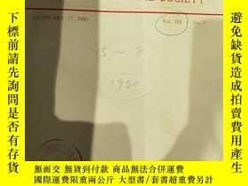 二手書博民逛書店JOURNAL罕見OF THE AMERICAN CHEMICAL SOCIETY VOL.102 NO.5-8