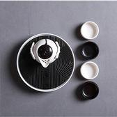 限定款茶具整套 小茶壺海杯紫砂陶瓷冰裂功夫茶具套裝 冰裂汝窯茶盤茶具茶杯