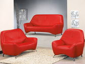 沙發  PK-502-5 小可愛紅色沙發全組【大眾家居舘】