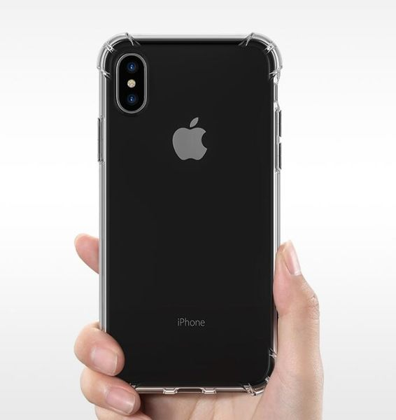 【SZ62】iphoneX手機殼 簡約透明防摔殼 iphone7/8手機殼 iphone 7/8 plus保護殼 軟殼