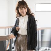 ❖ Hot item ❖ 開襟羊毛麻花辮粗針織罩衫/外套 - Green Parks