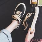 帆布鞋鞋子女2021年新款春秋百搭小白鞋ins街拍潮鞋板鞋女ulzzang帆布鞋 芊墨 618大促