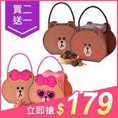 【買2送1】CANDY POPPY LINE熊大盒/熊美盒裹糖爆米花(100g) 兩款可選【小三美日】原價$189
