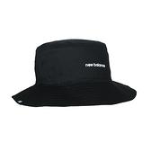 NEW BALANCE 漁夫帽(純棉 防曬 遮陽 運動 帽子 NB≡體院≡ LAH13003BK