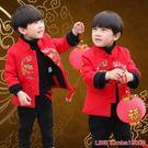 秋冬季兒童唐裝新年裝冬款中國風男童加厚3歲2漢服棉衣拜年服套裝 年終狂歡盛典