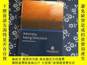 二手書博民逛書店Admiralty罕見Sailing Directions Au