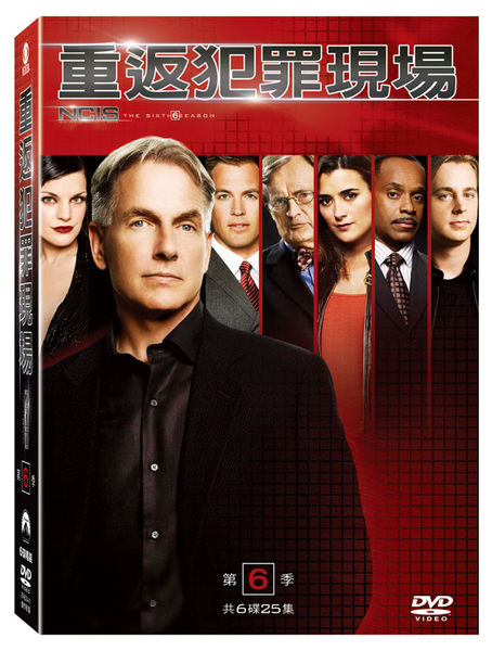 重返犯罪現場 第6季 DVD NCIS Season 6 免運 (購潮8)