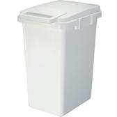 【日本RISU】SABIRO系列連結式環保垃圾桶33L-白色