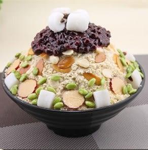 【協貿國際】韓國雪花冰模具仿真五穀年糕雪冰模型