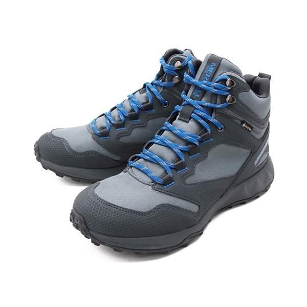 【南紡購物中心】MERRELL(男) ALTALIGHT APPROACH MID GORE-TEX 高筒郊山健行鞋 -灰