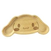 小禮堂 大耳狗 造型木質飾品盤 肥皂盤 小木盤 小物盤  (棕 大臉) 4901610-17643