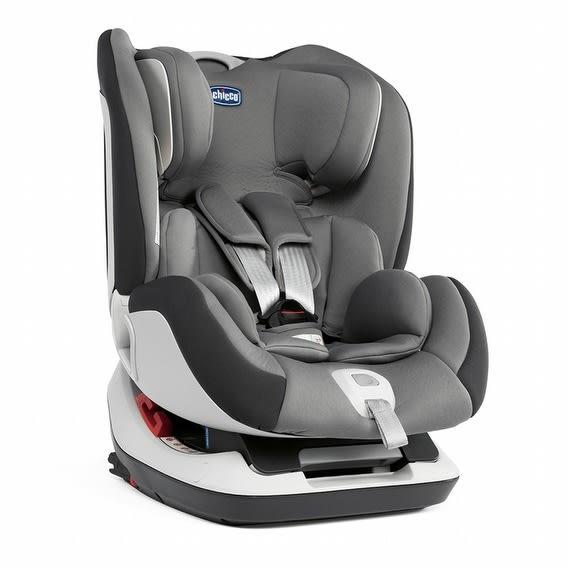 Chicco Seat up 012 Isofix 安全汽座 煙燻灰 贈汽座保護墊