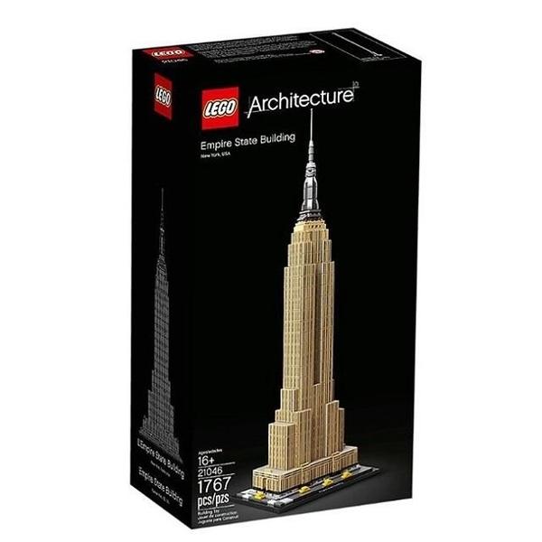 【南紡購物中心】【LEGO 樂高積木】世界建築Architecture系列-帝國大廈(3) 21046