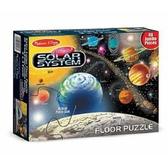 書立得-《美國 Melissa & Doug》大型地板拼圖:太陽系行星(48pcs)