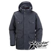PolarStar 男 防水羽絨外套 │CNS 90/10羽絨 『暗灰』P15223