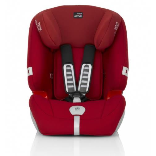 Britax - Romer Evolva 1-2-3 Plus 旗艦成長型汽車安全座椅(汽座) 火焰紅