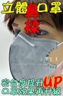 ◆台灣製罩◆PM2.5 立體活性碳鼻壓條...