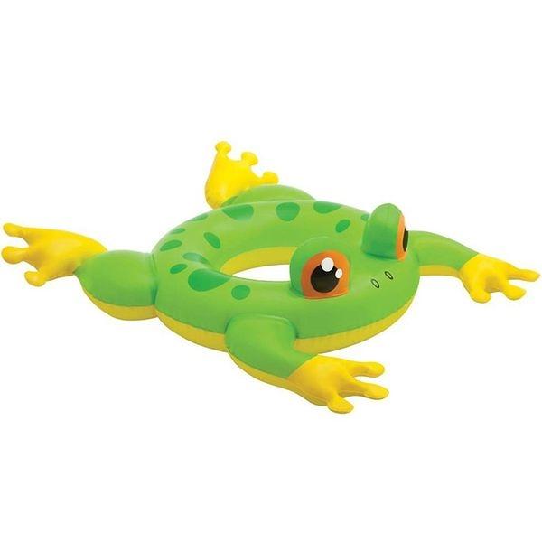 [衣林時尚]INTEX 動物造型泳圈58221 游泳圈 (青蛙) 3-6歲
