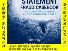二手書博民逛書店Financial罕見Statement Fraud Casebook: Baking the Ledgers a
