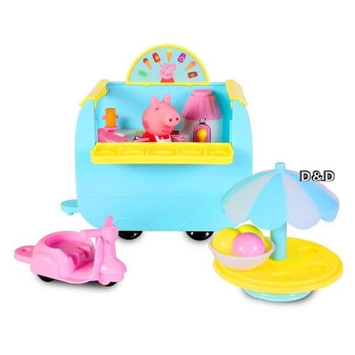 【 Peppa Pig 】粉紅豬小妹 冰淇淋餐車