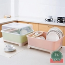 餐具帶蓋瀝水碗筷收納盒廚房家用碗柜置物架...