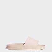 Adidas Adilette Lite W [H05680] 女 涼拖鞋 休閒 簡約 舒適 夏日 愛迪達 三葉草 橘