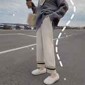 熱賣毛呢哈倫褲 加厚毛呢哈倫褲女學生秋冬季直筒休閒褲韓版寬鬆百搭顯瘦蘿卜褲子 coco