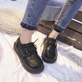 日繫軟妹ins小皮鞋女英倫學院風復古森繫大頭娃娃鞋新款 『洛小仙女鞋』