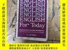 二手書博民逛書店ENGLISH罕見FOR TODAY BOOK:4Y252403 WILLIAM R.SLAGER MCGRA