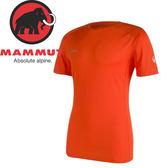 【MAMMUT 瑞士 男款 MTR71 T-shirt 《深橙》】1041-07750/短袖/圓領T恤/吸濕排汗★滿額送